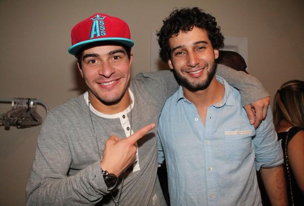 Thiago Martins e Rafael Almeida em show em São Paulo (Foto: Thiago Duran/ Ag. News)