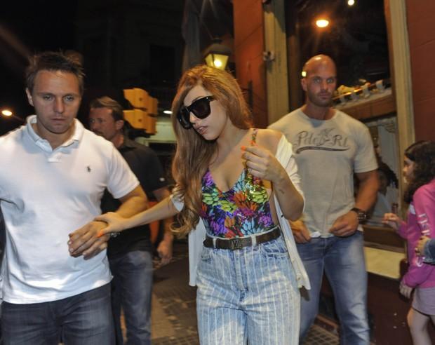 Ego lady gaga janta em restaurante em buenos aires for Noticias famosos argentina
