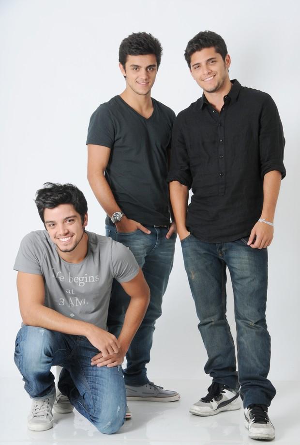 Irmãos Simas (Foto: Drica Donato)