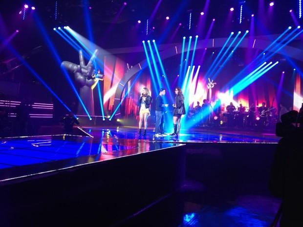 Boninho posta foto de Ivete e Claudia Leitte (Foto: Reprodução/ Twitter)