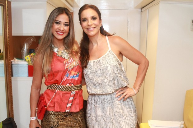 Ivete Sangalo e Mayra Cardi (Foto: Raphael Mesquita/ Foto Rio News)