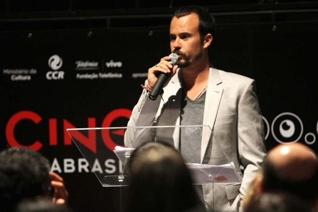 Paulo Vilhena em evento em São Paulo (Foto: Leo Franco/ Ag. News)