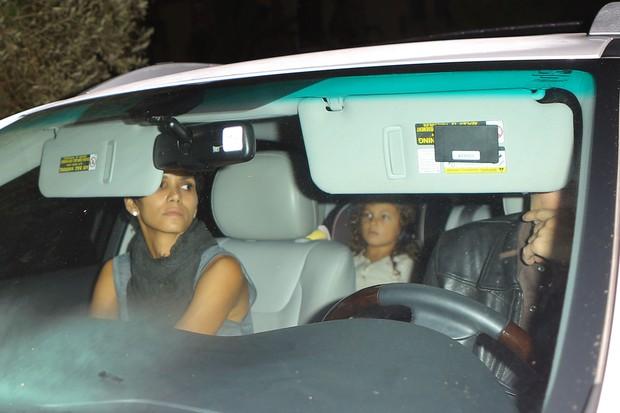 Halle Berry e Olivier Martinez  (Foto: Agência/ X17)