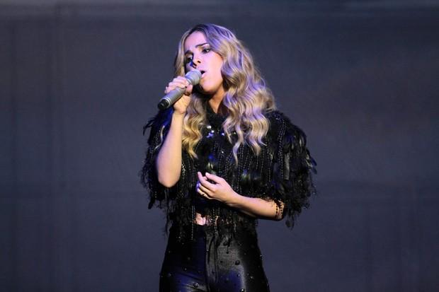 Wanessa em show em São Paulo (Foto: Orlando Oliveira/ Ag. News)