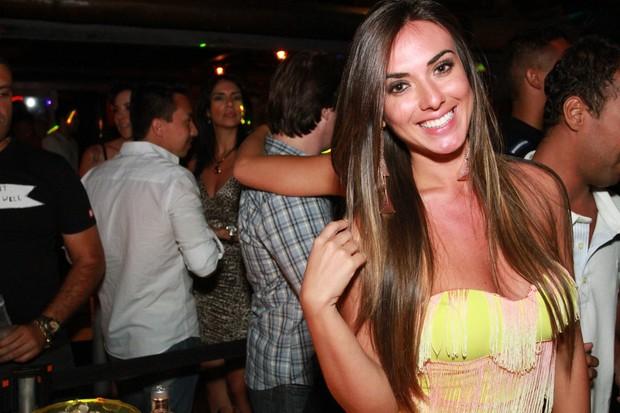 Nicole Bahls em boate no Rio (Foto: Marco Macedo/ Divulgação)