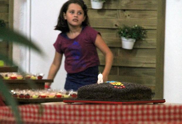 Catarina, filha de Marcelo Serrado e Rafaela Mandeli (Foto: Daniel Delmiro/ Ag. News)