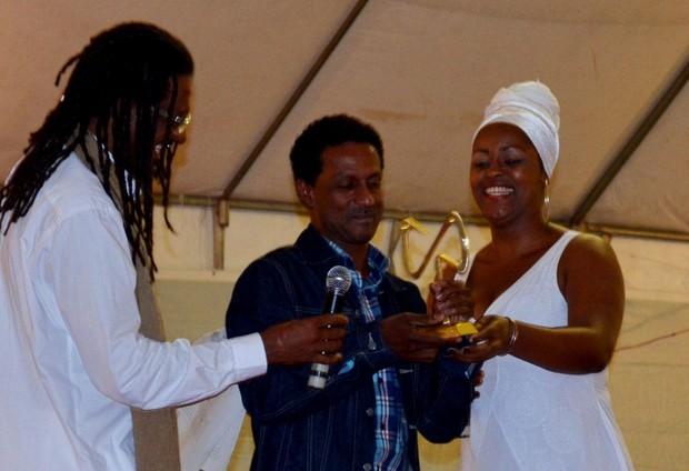 Luis Miranda no prêmio Mario Gusmão na Bahia (Foto: Staff Company/Divulgação)