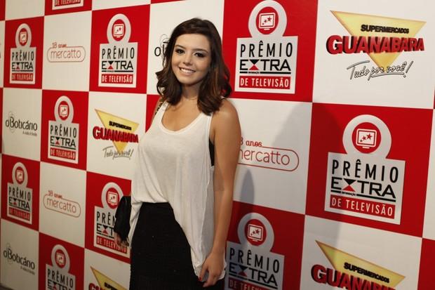 Giovanna Lancellotti no Prêmio Extra (Foto: Isac Luz / EGO)