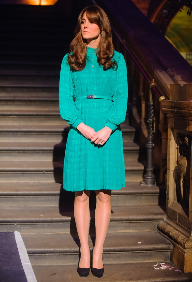 Kate Middleton vai a evento em Londres (Foto: AFP)