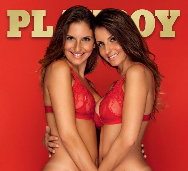 Gemeas na Playboy (Foto: Divulgação / Playboy)