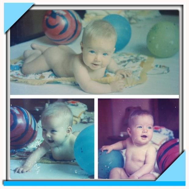 Angélica posta foto de quando era criança (Foto: Facebook / Reprodução)