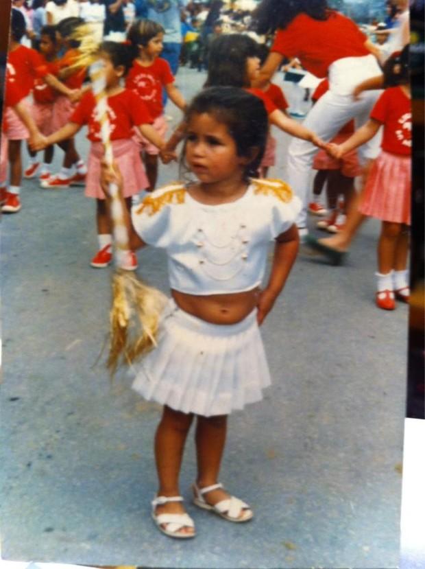 Nana Costa posta foto da infância (Foto: Reprodução / Twitter)