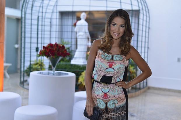 Pérola Faria em evento no Rio (Foto: André Muzell / AgNews)