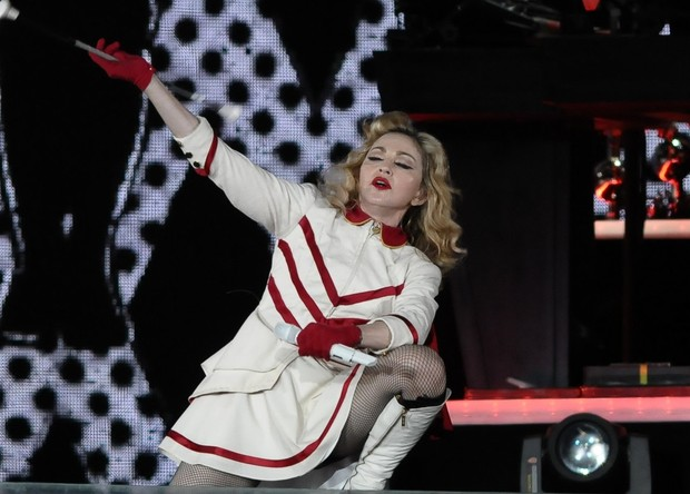 Madonna se apresenta em São Paulo (Foto: Francisco Cepeda / AgNews)