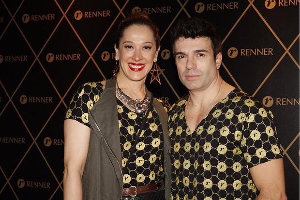 Claudia Raia e Jarbas Homem de Mello how de Madonna em São Paulo (Foto: Alessandra Gerzoschkowitz / EGO)
