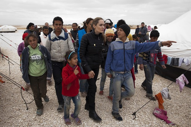 Angelina Jolie (Foto: JASON TANNER / UNHCR / AFP)