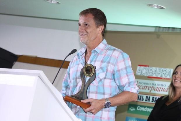 Marcello Novaes é homenageado no Rio (Foto: Alex Palarea/ Ag. News)