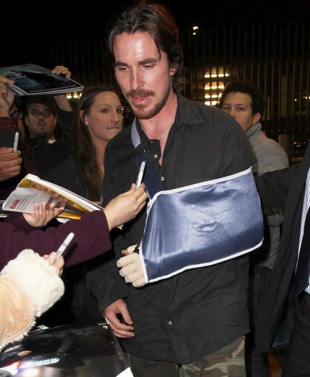 Christian Bale (Foto: X17 / Agência)