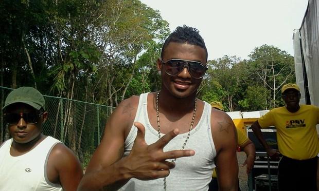 Felipe, do Flamengo, em Salvador (Foto: UIPress / Divulgação)