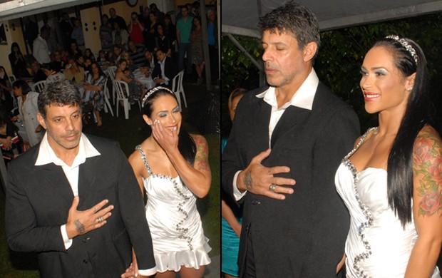 Alexandre e Fabiana Rodrigues (Foto: Ricardo Vait / Divulgação)