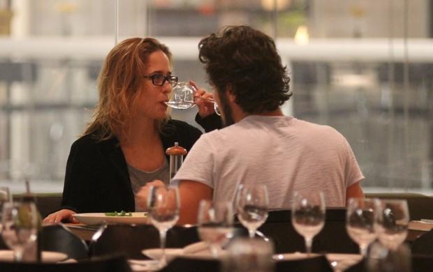 Paloma Duarte e Bruno Ferrari (Foto: Ag.News/ Marcus Pavão)