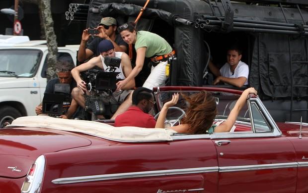 Will.i.am grava clipe no Rio (Foto: Gil Rodrigues/Photorio News)