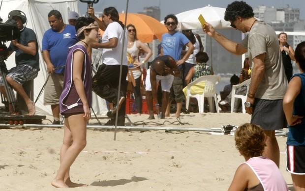 Eduardo Moscovis grava seriado no Rio (Foto: Edson Teófilo e Gil Rodrigues/PhotoRio News)