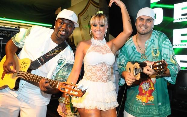 Juju Salimeni no ensaio da Mancha Verde - 23/10/2011 (Foto: AgNews/Franciso Cepeda)