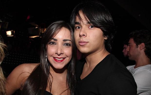 Igor Camargo com a namorada Amabylle no show de Wanessa em SP (Foto: Manuela Scarpa/Photo Rio News)