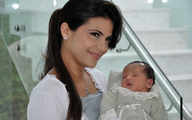 Aline Barros e Maria Catherine (Foto: Divulgação)