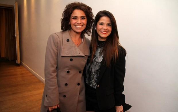 Giovanna Antonelli e Samara Felippo (Foto: Thyago Andrade e Raphael Mesquita / Photo Rio News)