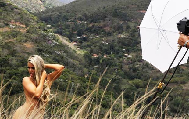 Aryane Steinkopf posa para o Paparazzo (Foto: Alexandre Campbell/Paparazzo)