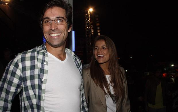 Nívea Stelmann e  Sanzio Gontijo  (Foto: Amauri Nehn e Francisco Cepeda / AgNews)