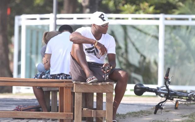 Willians, jogador do Flamengo (Foto: Delson Silva/Agnews)