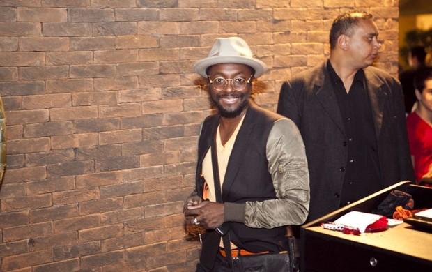 Integrantes do Black Eyed Peas curtem noite em São Paulo (Foto: André Leme / Divulgação)