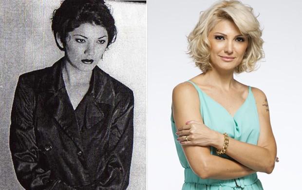 Antonia Fontenelle - antes e depois (Foto: Reprodução / Divulgação)