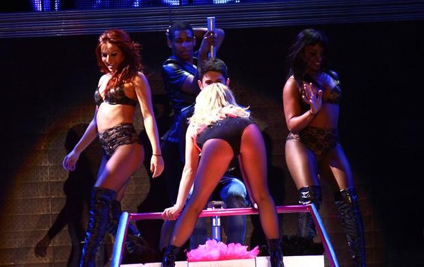 Britney Spears faz show em São Paulo (Foto: EGO/ Iwi Onodera)