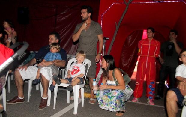 """Carlos Bonow vai com a família no """"Circo do Topetão"""" (Foto: Daniel Delmiro/ Ag.News)"""