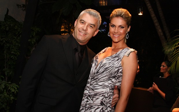 Ana Hickmann e Alexandre Corrêa (Foto: Photo Rio News)