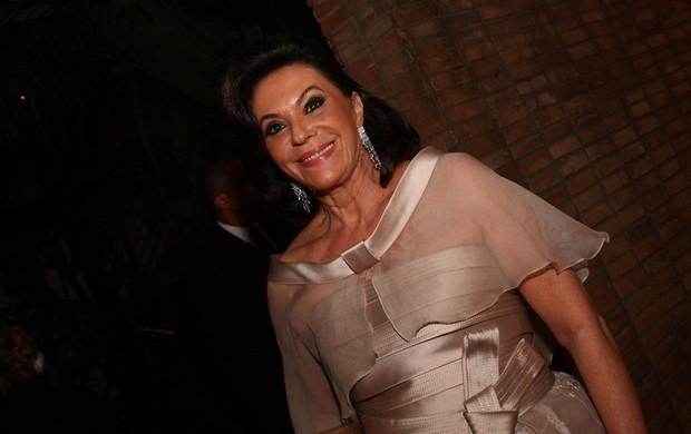 Beth Szafir no casamento de Ricardo Justus (Foto: Photo Rio News)