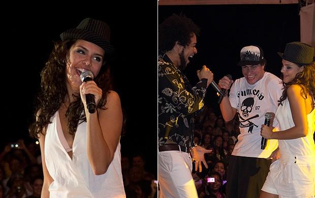 Thiago Martins e Paloma Bernardi em Salvador (Foto: Carlos Delagusta/ Divulgação)