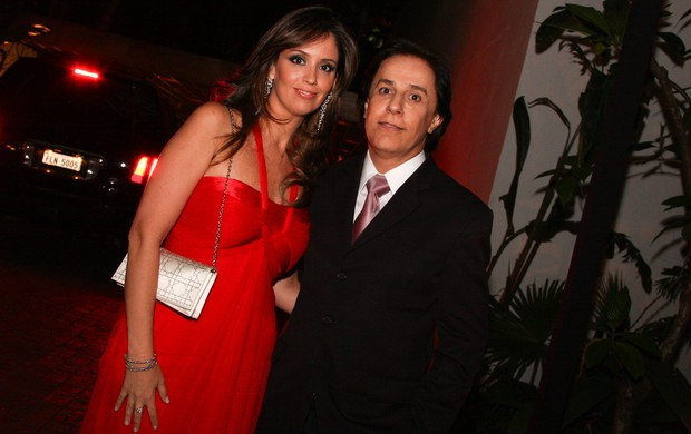 Tom Cavalcante e mulher, Patricia (Foto: Photorio News)