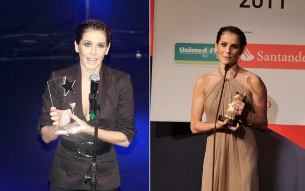 Deborah Secco: no Prêmio Extra e no Prêmio 'Veja Rio Cariocas do Ano' (Foto: Isac Luz / EGO - André Muzell / AgNews)