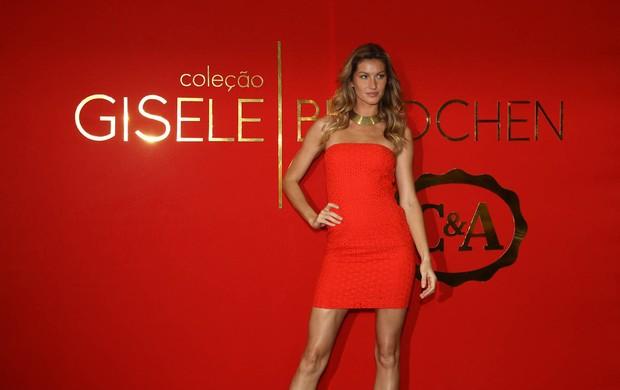 Gisele Bundchen em SP (Foto: Manuela Scarpa/Photorio News)