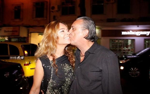 Galvão e a mulher (Foto: Philippe Lima/Ag. News)