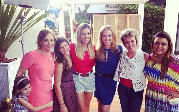 Angélica, Flávia Alessandra, Giulia, Preta Gil (Foto: Reprodução/ Twitter)