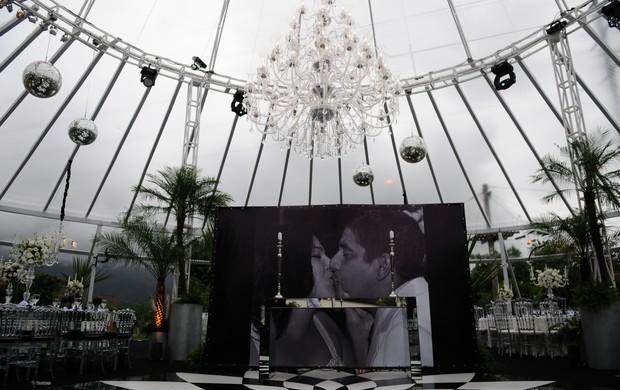 Decoração da festa de casamento de Zeca Pagodinho (Foto: Dani Rocha Fotografia)