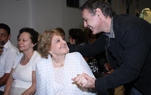 Eva Todor e Guilherme Leme (Foto: Henrique Oliveira / Photo Rio News)