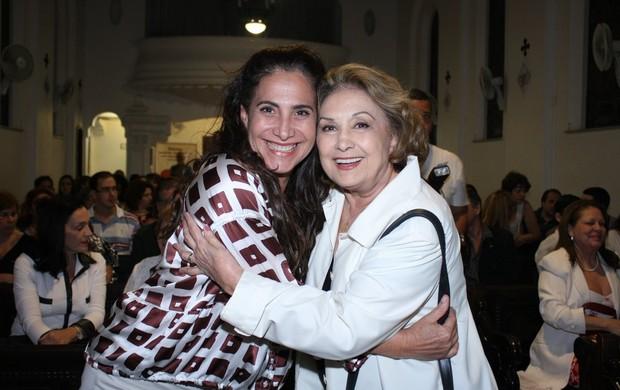 Totia Meireles e Eva Wilma (Foto: Henrique Oliveira / Photo Rio News)
