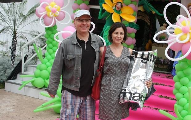 Marcelo Tas e a mulher, Bel Kowarick (Foto: Danilo Carvalho/Agnews)
